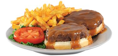 Le hamburger steak