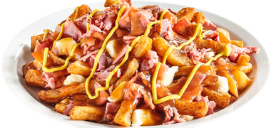 La poutine Smoked Meat